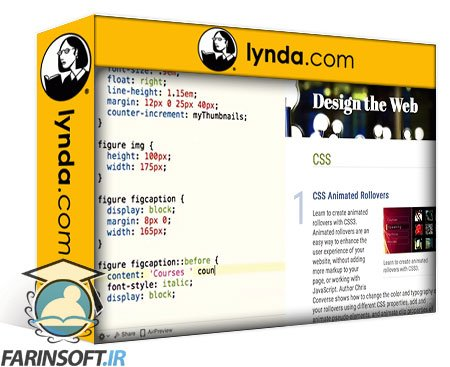 lynda Design the Web: Using Counters and Resets in CSS