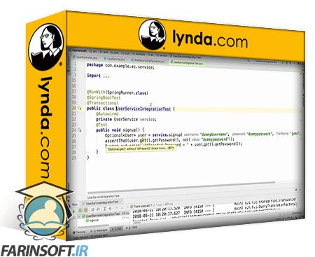 lynda Extending, Securing, and Dockerizing Spring Boot Microservices