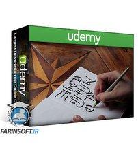 دانلود Udemy Penmanship Fundamentals: Learn Cursive and Calligraphy