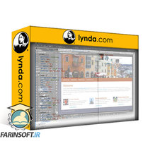 دانلود lynda Design the Web: Getting CSS from Photoshop