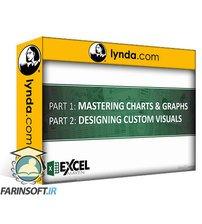 دانلود lynda Excel Data Visualization Part 1: Mastering 20+ Charts and Graphs