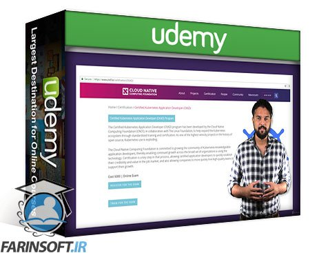 دانلود Udemy Certified Kubernetes Application Developer