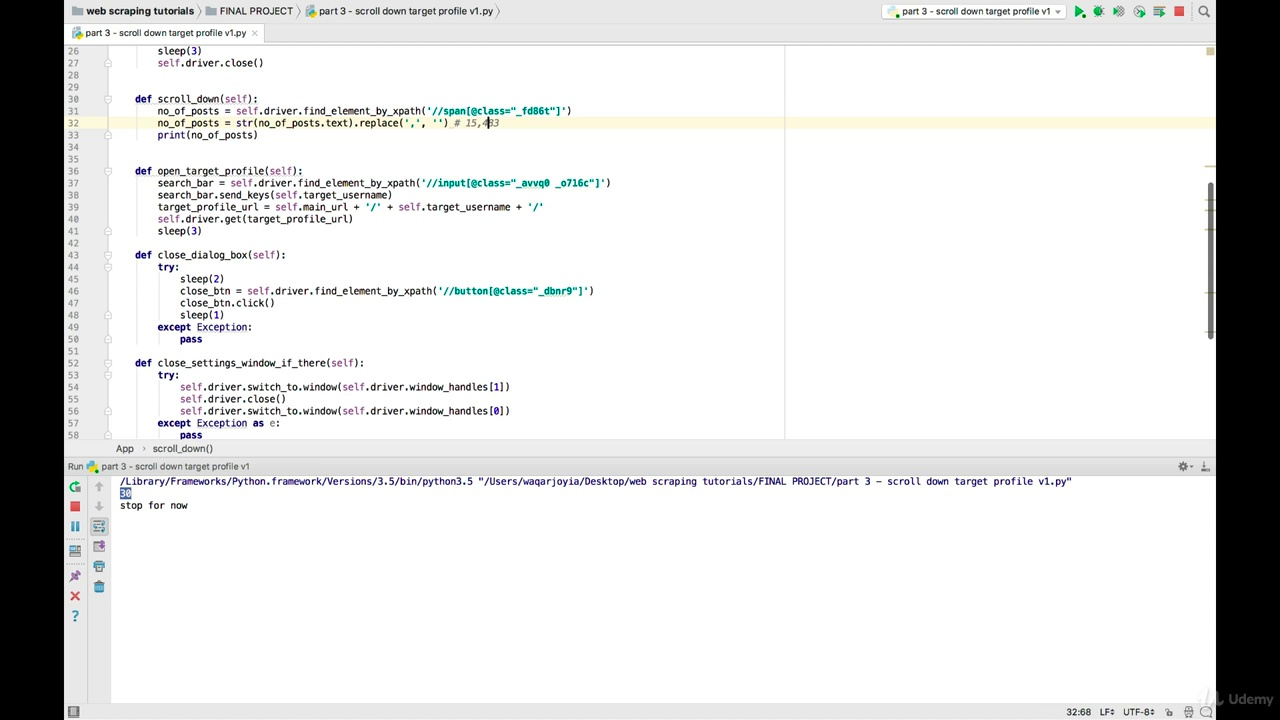دانلود Udemy Web Scraping with Python: BeautifulSoup