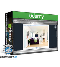 دانلود Udemy 3DS Max, AutoCAD, Vray: Creating a Complete Interior Scene