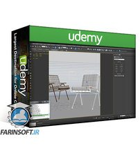 دانلود Udemy Interior 3D Rendering with 3ds Max + Vray : The Quickest Way