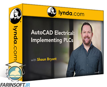 دانلود lynda AutoCAD Electrical: Implementing PLCs