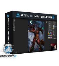 دانلود ArtStation Making Aurora Painting Process