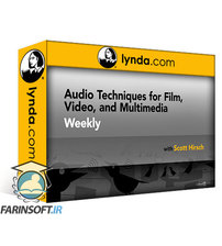دانلود lynda Audio Techniques for Film, Video, and Multimedia Weekly
