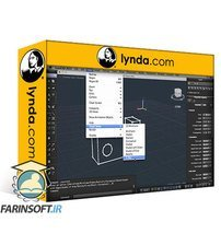 دانلود lynda Learning AutoCAD for Mac