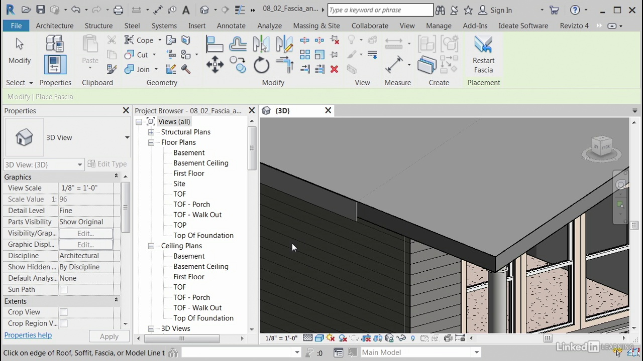 دانلود lynda Revit Architecture: Designing a House