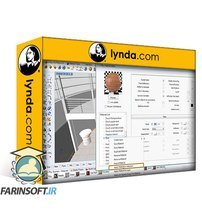 دانلود lynda Rhino and V-Ray: Architectural Rendering