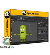 دانلود lynda Rigging a Cartoon Character in Maya