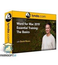 دانلود lynda Word 2019 for Mac Essential Training