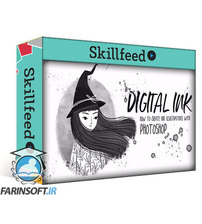 دانلود Skillshare Digital Ink – How to Create Ink Illustrations with Photoshop