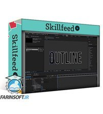 دانلود Skillfeed Easy Outline Text Animation in Adobe After Effects