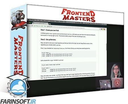 دانلود Frontend Masters Git In depth