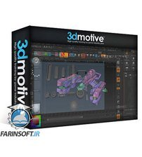 دانلود 3DMotive Scifi Ship Series in Maya Volume 1-5