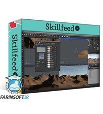 دانلود Skillshare Create CG Clouds, Skies and Atmospheres for your artwork, Matte Painting and VFX
