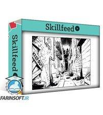 دانلود Skillshare Drawing a Comic Book Background with One Point Perspective