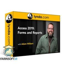 دانلود lynda Access 2019: Forms and Reports