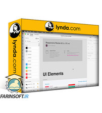 دانلود lynda Adobe XD: Using UI Kits