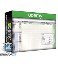 دانلود Udemy Revolutionary 3D Gantt charts or Advance Gantt chart Excel
