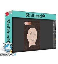 دانلود Skillfeed Digital Art : Painting Realistic Skin