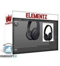 دانلود Elementza Headsets 3D modeling in Cinema 4D