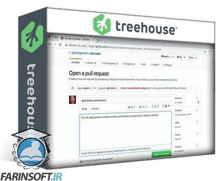 دانلود Treehouse Git Branches and Merging