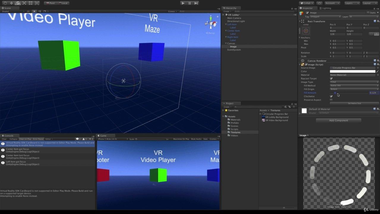 دانلود Udemy Introduction to VR with Unity