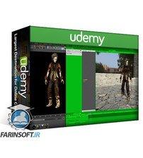 دانلود Udemy Learn to Create 3D Character Art with Cinema 4D