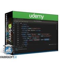 دانلود Udemy PyQt Desktop Apps with Python