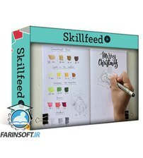 دانلود Skillshare Marker Art: Drawing Festive Illustration (easy step-by-step guide)