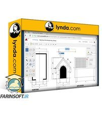 دانلود lynda Learning AutoCAD 360