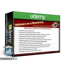 دانلود Udemy Running successful Webinars on a Shoestring