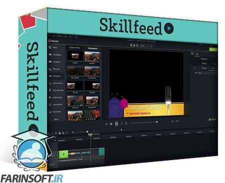 دانلود Skillshare Video Editing: Record, Screen Capture and Edit Your Videos with Camtasia