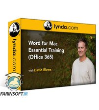 دانلود lynda Word for Mac Essential Training (Office 365)