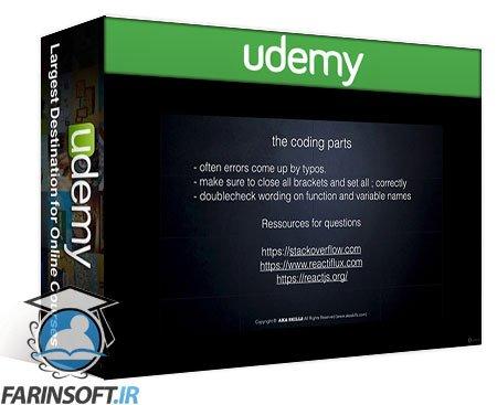 دانلود Udemy React: Web Apps with ReactJS and Redux – The Complete Course