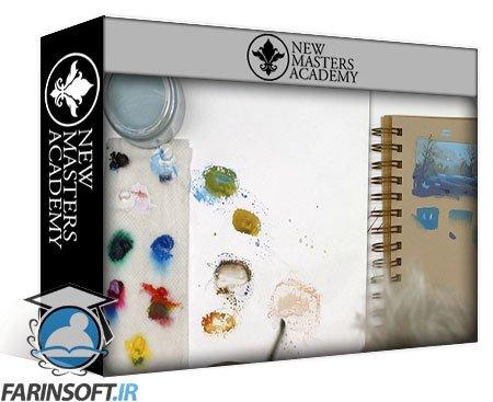 دانلود New Master Academy Introduction to Sketchbook Techniques and Materials