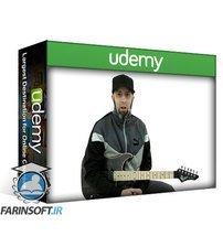 دانلود Udemy TrueFire Guitar Gym – Triad chord scales melodic minor