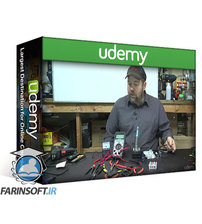دانلود Udemy Electricity & electronics – Robotics, learn by building