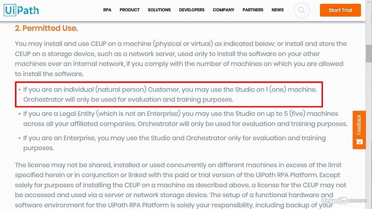 دانلود lynda UiPath: Robotic Process Automation (RPA)