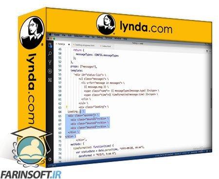 دانلود lynda Vue.js for Web Designers