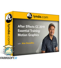 دانلود lynda After Effects CC 2019 Essential Training: Motion Graphics