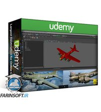 دانلود Udemy How to Texture 3D Aircraft Model in Maya & Substance Painter