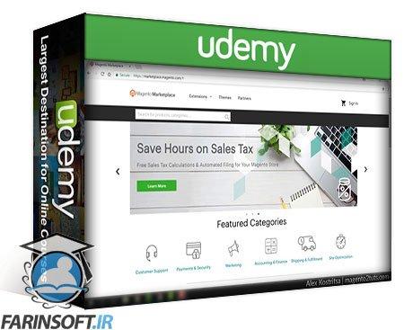 دانلود Udemy Magento 2 Essential Video Training