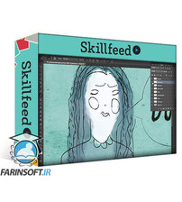 دانلود Skillshare Create Amazing Animated Character GIFs Using Adobe Photoshop!