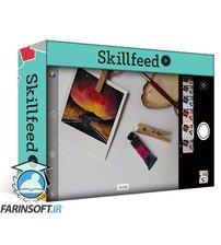 دانلود Skillfeed Fun and Easy Watercolour Galaxies – Step by Step (Polaroid Style)