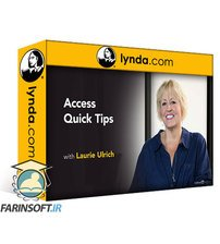 دانلود lynda Access Quick Tips