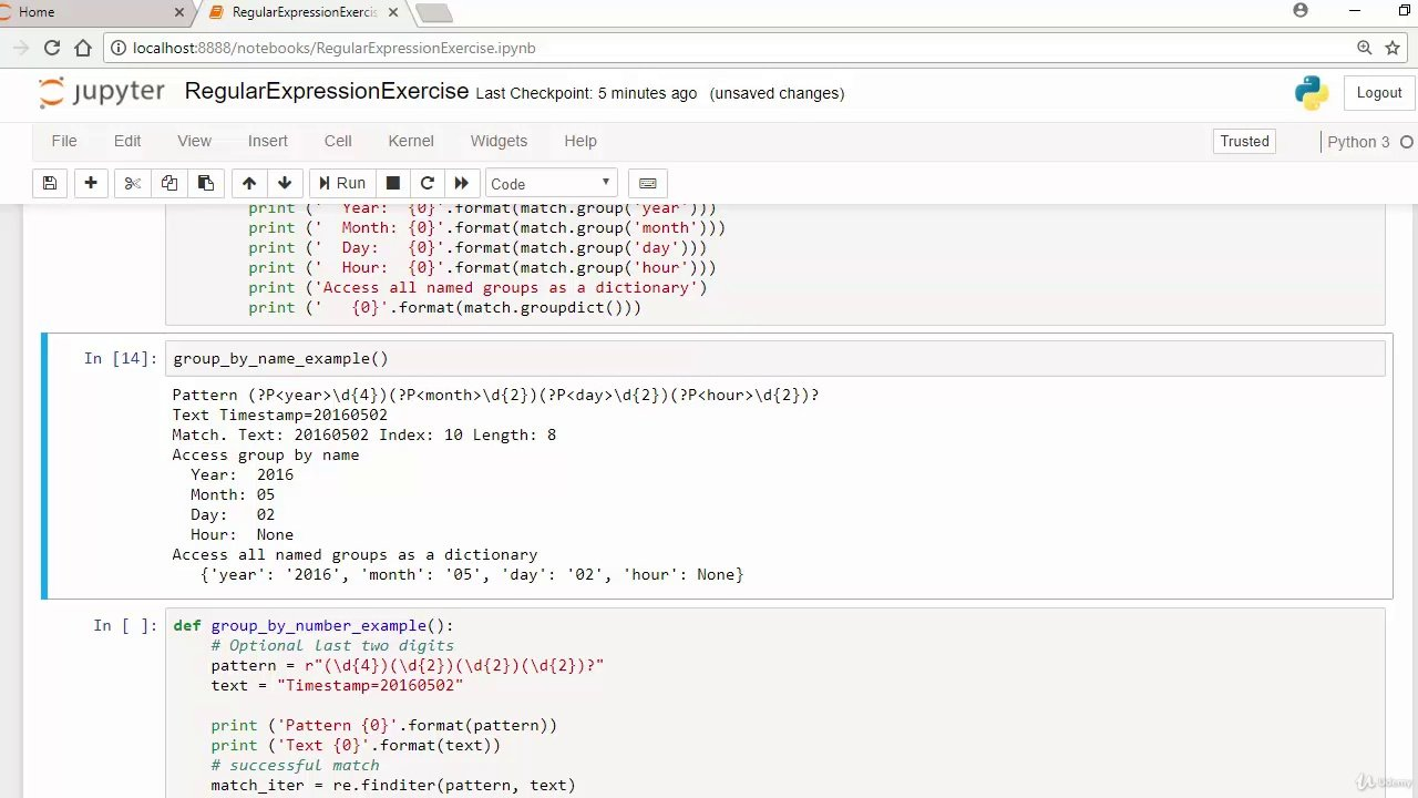 دانلود Udemy 2018 Python Regular Expressions, Projects and Solutions